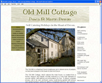 Old Mill Cottage, Self Catering Holidays